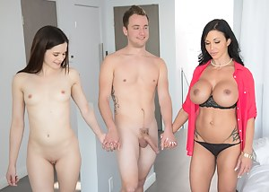 Free MILF Threesome Porn Pictures